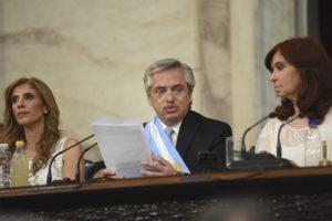 En su primer mensaje, el presidente Fernández aseguró: «Nunca Más una justicia contaminada»