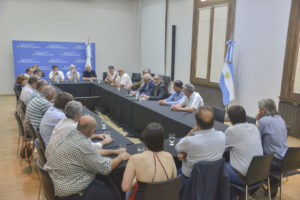 Basterra se reunió con la Federación Agraria Argentina con la mira puesta en los pequeños productores