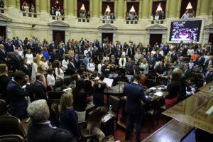 Juraron los 130 nuevos diputados y Massa preside la Cámara