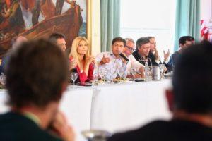 Kicillof compartió un encuentro con más de 60 intendentes
