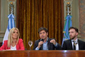 Kicillof defendió la ley impositiva y cargó duro contra la oposición de JxC