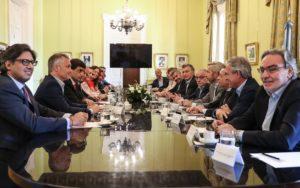 «Un lunes especial», dijo Macri en su última reunión de Gabinete