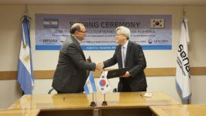 Argentina y Corea del Sur trabajarán para mejorar la eficacia de la vacuna contra la aftosa