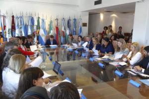 Massei y Jure formaron parte   de la reunión de ministros provinciales con Arroyo