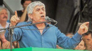 «Con 2 minutos, le sobra para hablar de sus virtudes», dijo Moyano sobre la cadena nacional de Macri