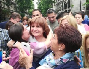 Bullrich: «Volver atrás es repetir todos los problemas de corrupción que tuvo la Argentina»