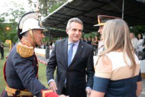 Rossi envió su mensaje navideño a las dotaciones en la Antártida, Agregados militares y Cascos azules en Chipre