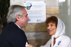 Fernández: «La memoria no se puede robar ni destruir»