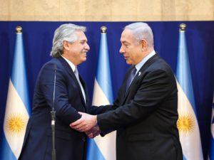 Ante Netanyahu, Alberto F. reafirmó el compromiso del Gobierno por saber qué pasó en la AMIA