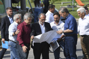 Schiaretti y Llaryora inauguraron obras pluviales en zona norte de la Capital