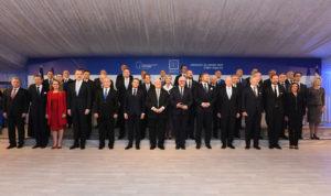 Alberto F. participó de la cena de bienvenida junto a líderes internacionales