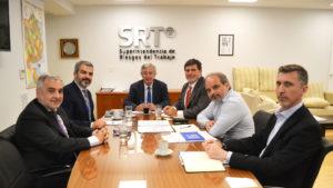 La SRT y la OIT acordaron continuar con una agenda de trabajo conjunta