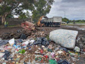 El municipio arrancó con los operativos de erradicación de microbasurales