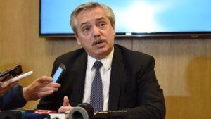 Para Fernández, en este mes de gestión «se logró tranquilizar la economía»