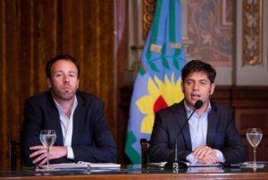 Kicillof acusó a Vidal por el «sobreendeudamiento desenfrenado» de la Provincia
