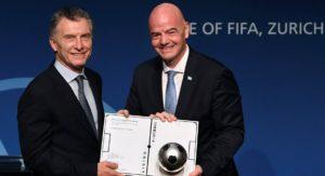Duras criticas de D'Onofrio y Tinelli por la designación de Macri en la FIFA