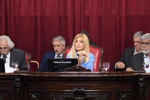 Para Magario, los cambios de la oposición «alteraron el espíritu» de la ley impositiva