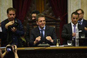Massa acordó con Alberto F. la agenda legislativa para el verano en el marco de las extraordinarias