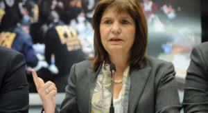 Bullrich rechazó la decisión de revisar la pericia de Gendarmería y cargó duro contra Alberto F.