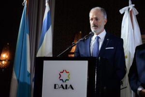 Para el titular de la DAIA, resulta «muy positivo» el primer viaje oficial de Alberto F. a Israel