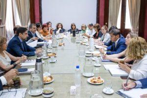 El gabinete de Educación Nacional inauguró su agenda federal en La Plata