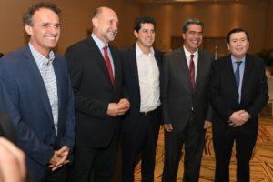 El Gobierno acordó con tres gobernadores impulsar un plan hídrico