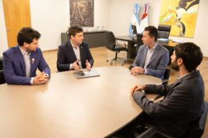 Por OTTAA Project, innovadores cordobeses reconocidos en los Emiratos Árabes se reunieron con Calvo