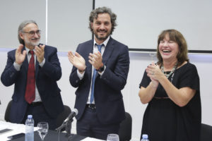 Cafiero y Basterra pusieron en funciones a la primera mujer en presidir el INTA