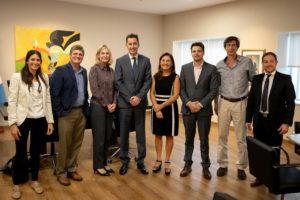 Fundación norteamericana expresa su interés en colaborar con lo que será el futuro parque de Ansenuza