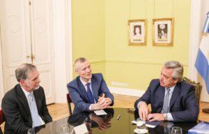 El Presidente se reunió con el director ejecutivo de Netflix