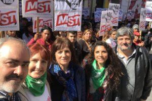 La Izquierda se movilizará contra el FMI en Argentina