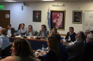 El «voto de silencio» a modo de protesta de JxC en la sesión con el ministro Guzmán