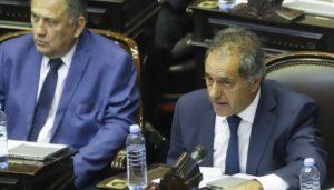 Ante la polémica, Scioli justificó su presencia para habilitar el quórum en Diputados