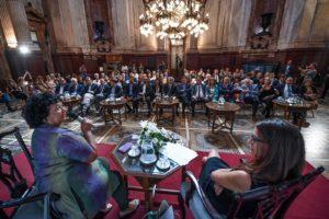 Autoridades del Senado cumplieron con la capacitación dispuesta por la Ley Micaela