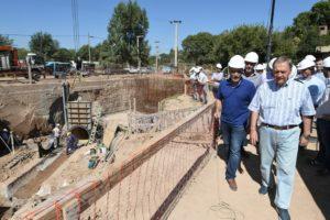 La obra de rehabilitación integral del canal Los Molinos-Córdoba observa un avance del 99%