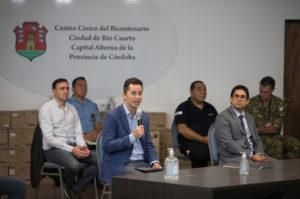 En el marco de la cuarentena por la epidemia de Covid-19, ya funciona el primer COE regional en Río Cuarto