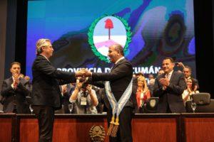 Manzur quiere a Alberto Fernández como «conductor» del PJ nacional