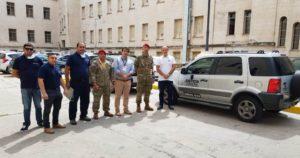 COVID-19: entregan 20 vehículos secuestrados para que sean usados en el operativo sanitario