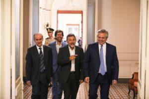 El Presidente Fernández  recibió a legisladores e intendentes de Córdoba encabezados por Caserio