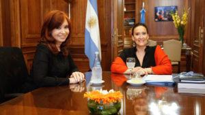 Cristina Kirchner denunció a Gabriela Michetti por supuesta defraudación contra la administración pública