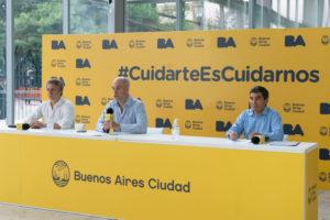 Rodríguez Larreta dijo que analizará con el Presidente la cuarentena general