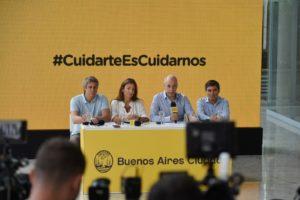 Por el coronavirus, el Gobierno porteño anunció un paquete de medidas para la educación, trámites y cuidado a los adultos mayores
