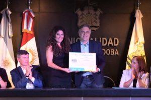 Llaryora y Martínez rubricaron un convenio para combatir la violencia de género
