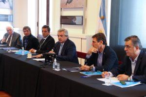 Tras la reunión de Alberto F. con los jefes de los bloques parlamentarios, Massa destacó el trabajo conjunto con la oposición