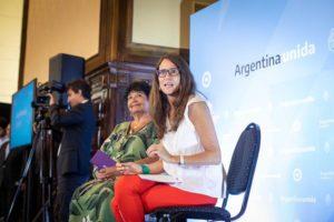 Gómez Alcorta abogó por un Estado que «acompañe a las mujeres»