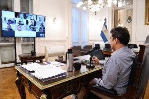 Massa analiza medidas para recortar sueldos de diputados y destinarlos a la salud por la lucha contra el Covid-19