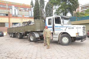 Se completó el traslado de mobiliario para permitir la ampliación de las camas críticas del Hospital San Roque