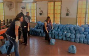 El municipio entregó 13.500 módulos alimentarios a alumnos de escuelas y jardines municipales