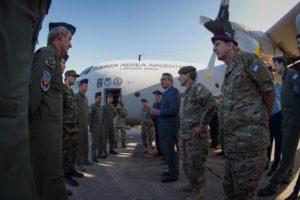 «Si se requiere, aparecerán las Fuerzas Armadas», afirmó el titular de Defensa