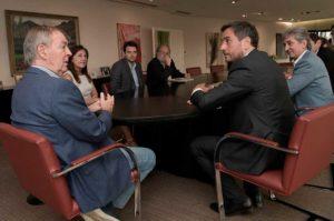 Con agenda ambiental, Schiaretti se reunió con ministro K (albertista)